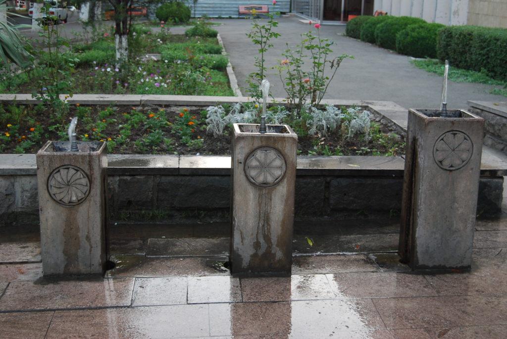Три фонтана. Степанакерт