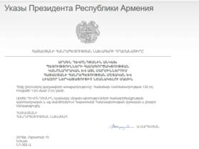 Փոխվել է Հայաստանի լիազոր ներկայացուցիչը ԱՊՀ-ում