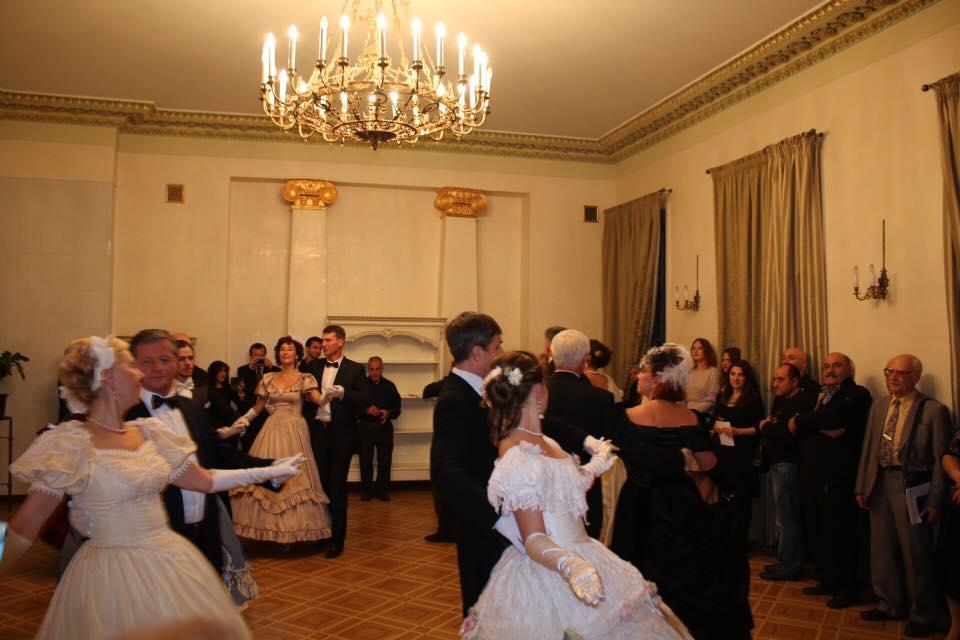 В здании посольства Армении в России прошел вечер, посвященный семейству Лазаревых