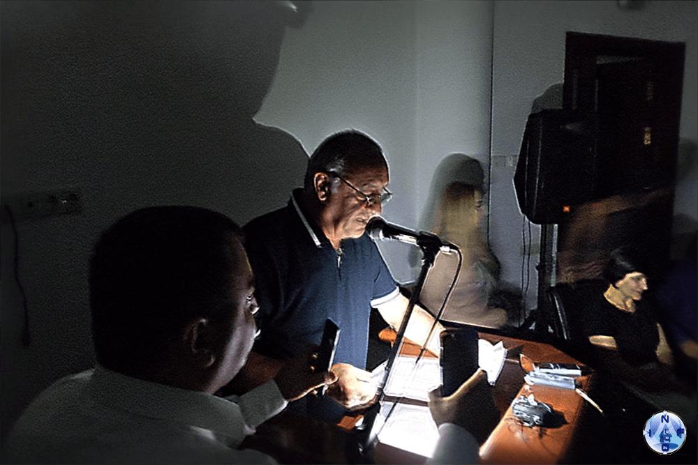 """Учредительное собрание партии """"Справедливость"""" Арцаха частично проходило в темноте"""