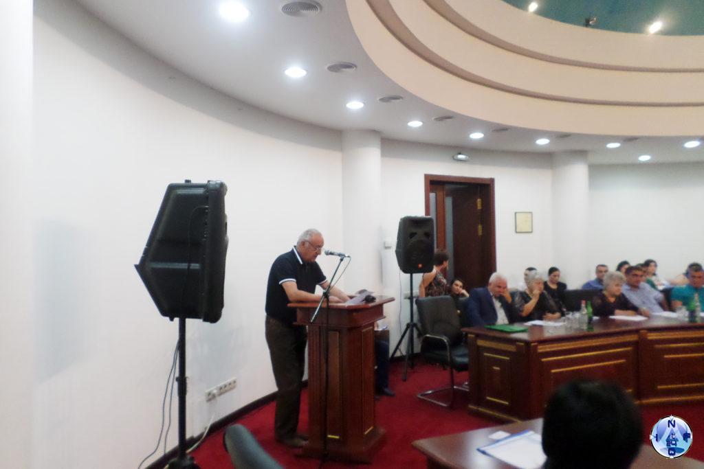 Մարսել Պետրոսյան-Արցախի «Արդարություն» կուսակցության համանախագահ