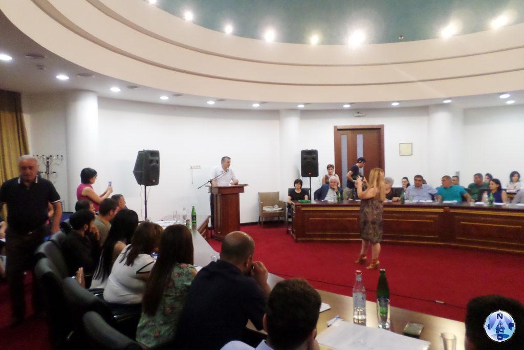 "Акоп Акопян сопредседатель партии ""Справедливость"" Арцаха"