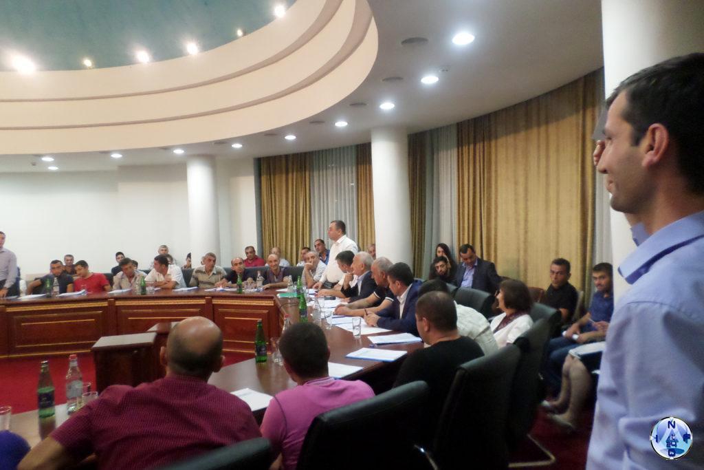 """Избрание членов контрольной комиссии партии """"Справедливость"""" Арцаха"""