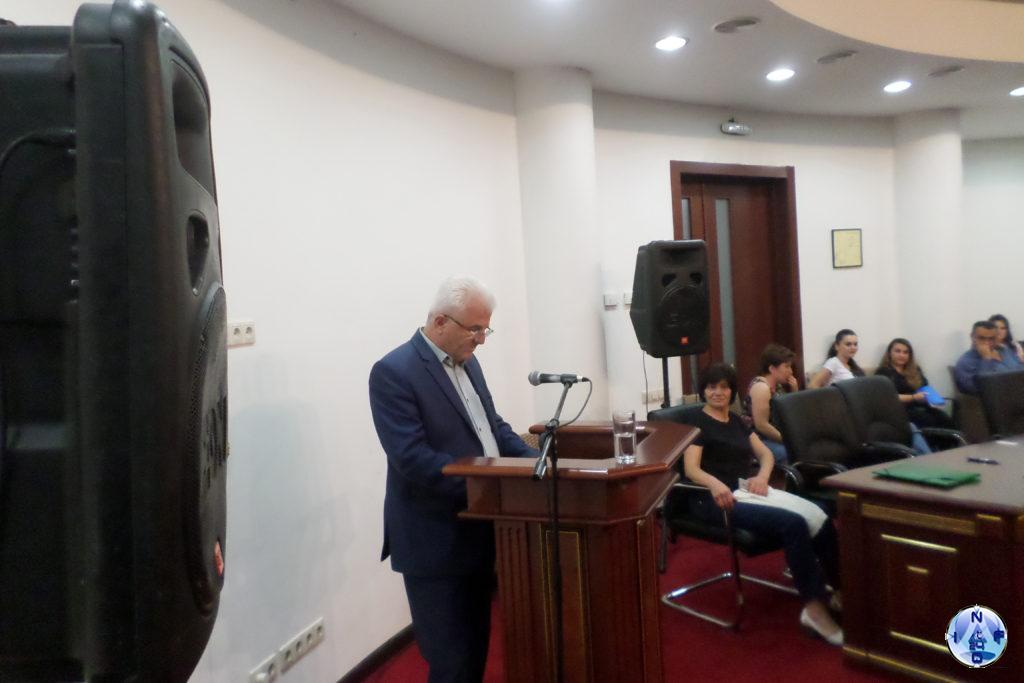 Արցախի Հանրապետության Ազգային ժողովի պատգամավորության թեկնածու Միքայել Գասպարայն