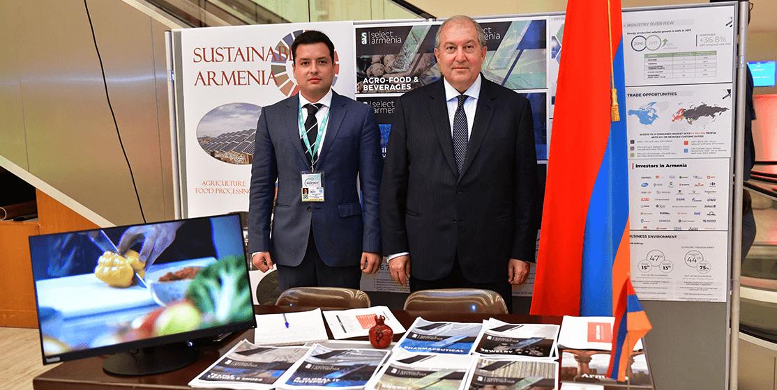Армен Саргсян в Женеве принял участие в открытии Всемирного инвестиционного форума