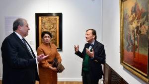 Армен Саргсян посетил выставку «Школа Бернини: Римское барокко». Фоторяд