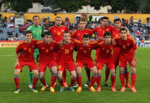 Armenia's national football team players