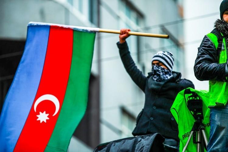 Հանրահավաք Ադրբեջանում