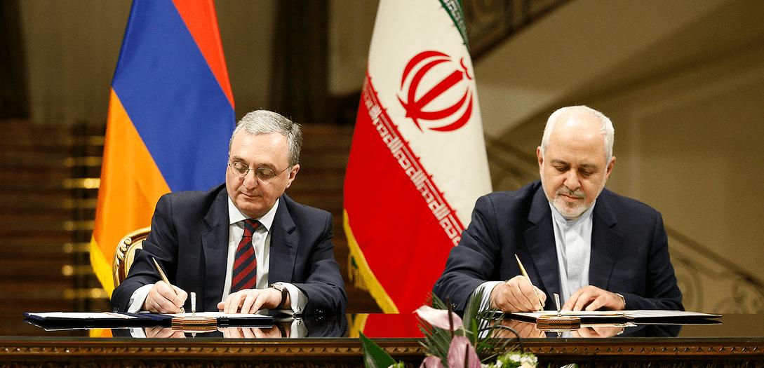 Между Арменией и Ираном подписано два меморандума. Видео