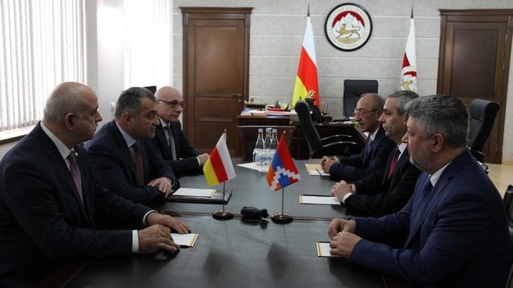 Подписано соглашение между Республикой Арцах и Южной Осетией