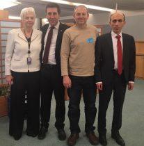 Արտակ Բեգլարյանը և Ռուբեն Մելիքյանը Եվրոպական խորհրդարանում մասնակցել են հայատյացությանը նվիրված համաժողովին