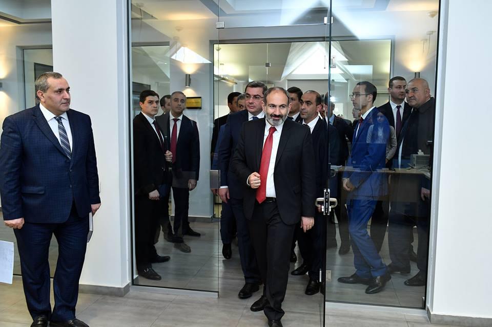 Նիկոլ Փաշինյանին է ներկայացվել ՊԵԿ սերվերային ենթակառուցվածքը