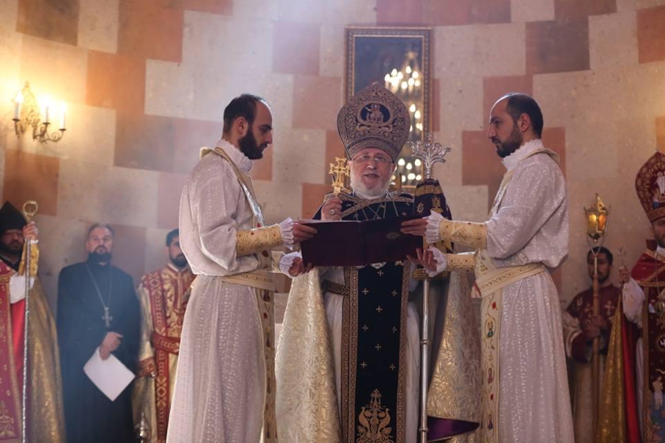 В Степанакерте Гарегин Второй провел церемонию освящения Кафедрального собора Покрова Пресвятой Богоматери