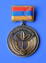 Бако Саакян наградил благодарственной медалью Виктора Коноплева