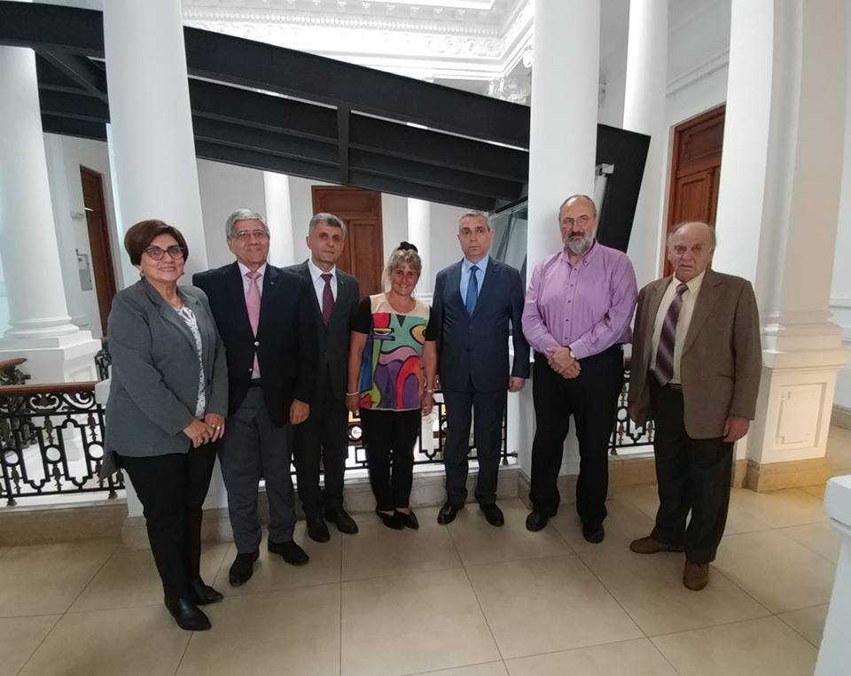 Министр иностранных дел Арцаха встретился с Пепе Мухика в Уругвае