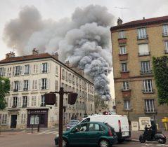 Горит Версаль: Очередная трагедия во Франции. Видео