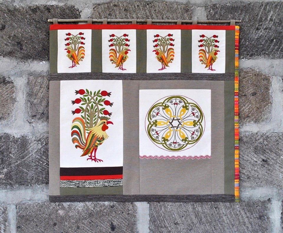 В Бремене открылась персональная выставка вышивальщицы Армине Хачатрян