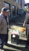 Գյումրու շուկայում ՊՆ պատվերով արտադրված օճառ են վաճառում