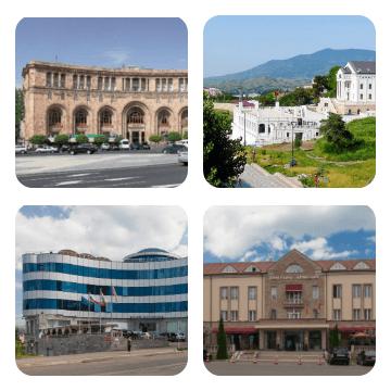 Гостиницы Армении и Арцаха