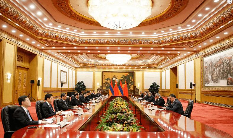Նիկոլ Փաշինյանը և Սի Ծինփինը քննարկել են հայ-չինական հարաբերությունների հետագա զարգացմանն ուղղված մի շարք հարցեր
