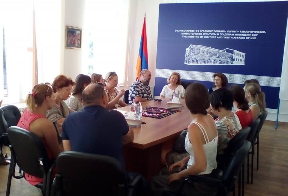 Մոսկվայի գեղարվեստի դպրոցի մանկավարժները ճանաչողական այցով Արցախում էին