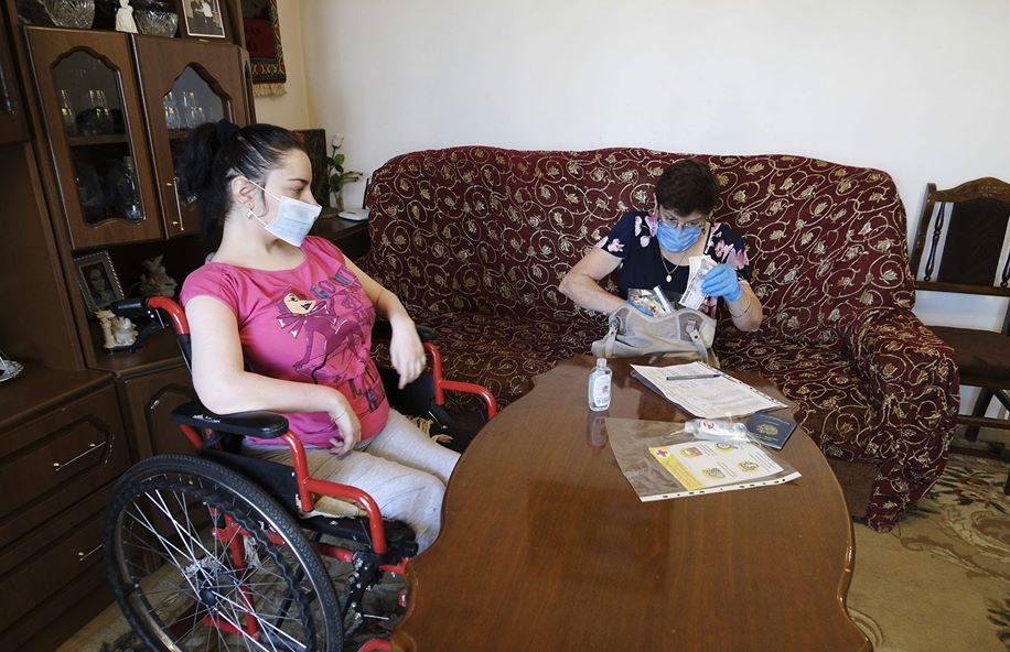 Արցախում քրոնիկ հիվանդներին և հաշմանդամներին ֆինանսական օժանդակություն է տրամադրվում