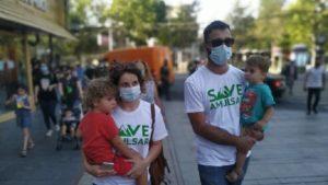 Автопробег и митинг в защиту экологии Джермука. Жители бьют тревогу