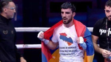 «Հայաստանի պաշտպաննե՛ր, մեր անպարտելի զինվորնե՛ր, մենք կանգնած ենք ձեր կողքին»