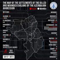 Մարդու իրավունքների պաշտպանը հրապարակել է Արցախի բնակչության նկատմամբ Ադրբեջանի վայրագությունների վերաբերյալ երկրորդ միջանկյալ զեկույցը