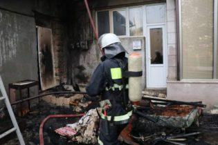Հրդեհ Ստեփանակերտում. Այրվել է բնակարանի մուտքում պահվող իրերը և տանիքը